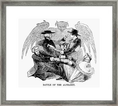 Religious Dissenters, 1843 Framed Print by Granger