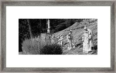 Religious Statues Framed Print