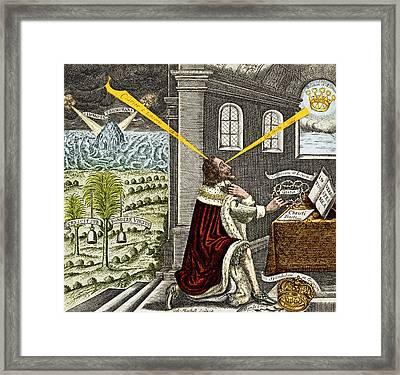 Reliquiae Sacrae Carolinae, Charles Framed Print