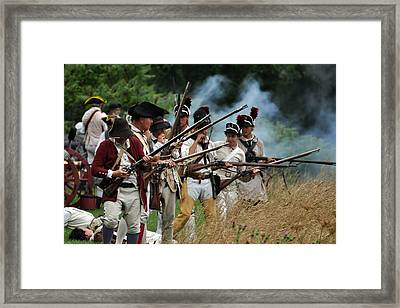Reload Framed Print by William Coffey