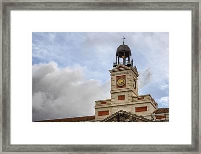 Reloj De Gobernacion 1 Framed Print by Pablo Lopez