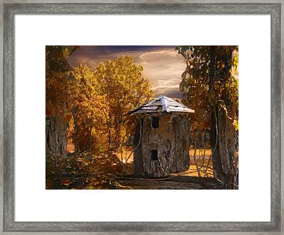 Remains Framed Print by Jack Zulli