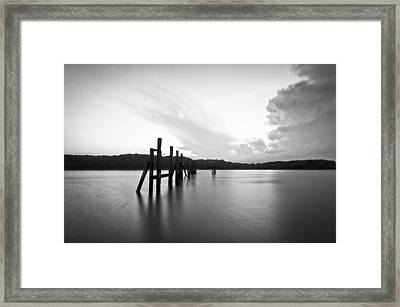 Remains Framed Print by Lee Costa
