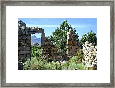Remains Of A Dream Framed Print