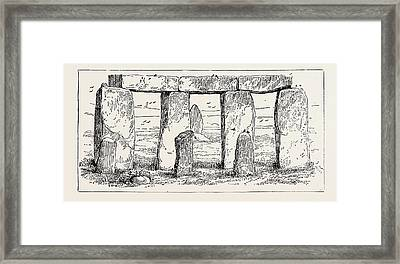 Remains Of A Druidic Temple Framed Print