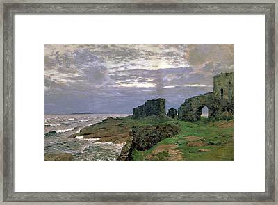 Remains Of Bygone Days Framed Print by Isaak Ilyich Levitan