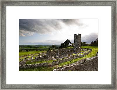 Remains Of The Church On St Patricks Framed Print by Panoramic Images