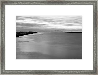 Remains Of The Storm Framed Print by Heidi Smith