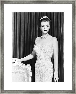 Remains To Be Seen, Angela Lansbury Framed Print by Everett