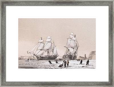 Remarkable Appearance In The Sky Framed Print