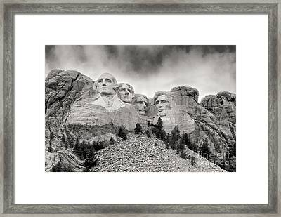 Remarkable Rushmore Framed Print