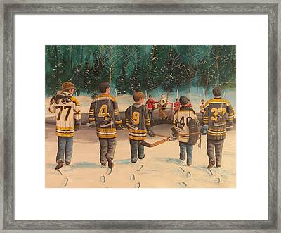 Rematch - Stanley Cup 2013 Framed Print