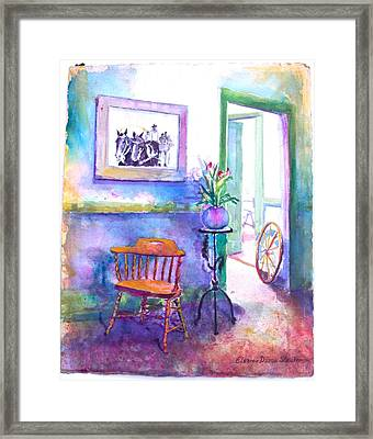 Remberence  Framed Print by Eleanor  Dixon Stecker