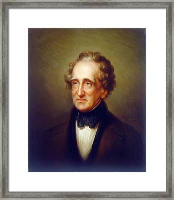 Rembrandt Peale American, 1778 - 1860, Thomas Sully Framed Print