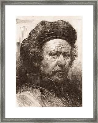 Rembrandt Portrait 1 Framed Print