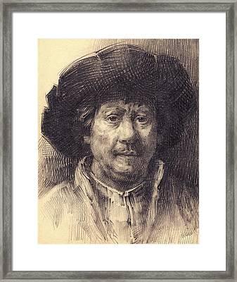 Rembrandt Portrait2 Framed Print