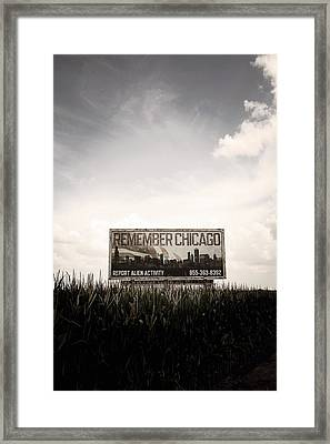 Remember Chicago  Framed Print by Trish Mistric