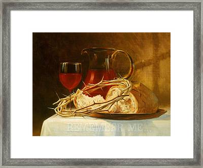 Remember Me Framed Print by Graham Braddock