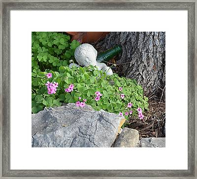 Framed Print featuring the photograph Remember Me by Linda Cox