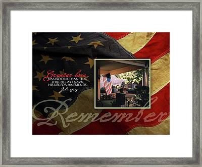 Remember Framed Print by Tammy Apple