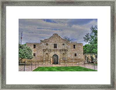 Remember The Alamo Framed Print