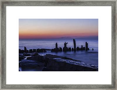 Remember The Dawn Framed Print