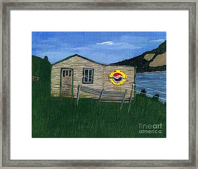 Remember When - Pepsi Framed Print by Barbara Griffin