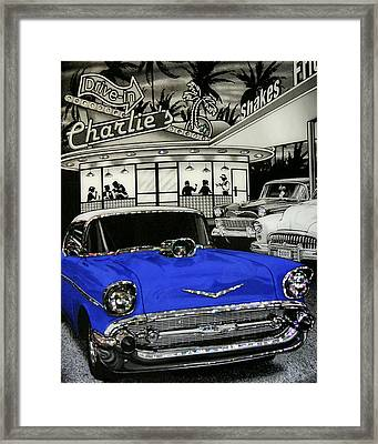 Framed Print featuring the photograph Remember When by Rhonda McDougall