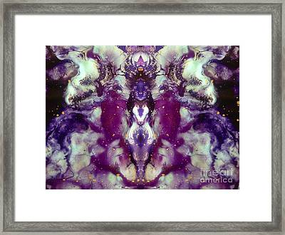 Remember You Are Divine Framed Print by Denise Nickey