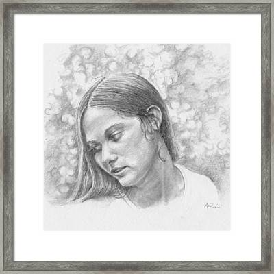 Remembered Always Framed Print