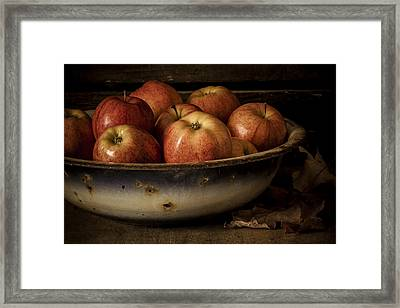 Remembering Autumn Framed Print by Amy Weiss