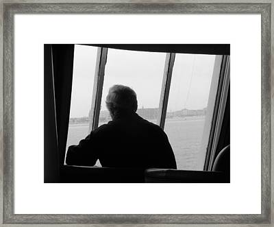 Framed Print featuring the photograph Remembering Calais by Meaghan Troup