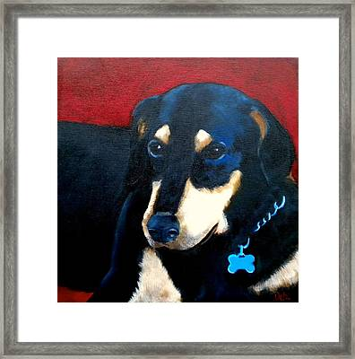 Remembering Doby Framed Print