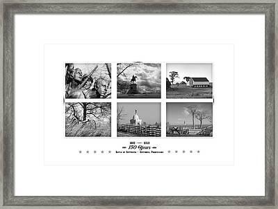 Remembering Gettysburg Framed Print