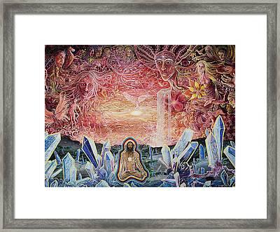Remembering Framed Print by Matthew Fredricey