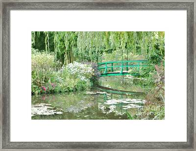 Remembering Monet  Framed Print by Olivier Le Queinec