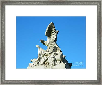 Framed Print featuring the photograph Remembering Our Soldiers by Emmy Marie Vickers