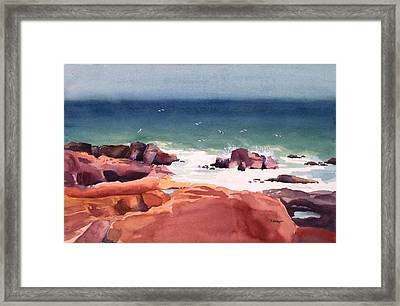 Remembering Schoodic Framed Print