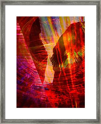 Remembering Framed Print by Shirley Sirois