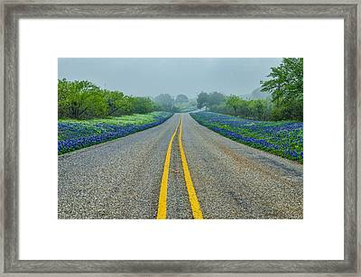 Remembering Spring In Texas Framed Print by Jeffrey W Spencer