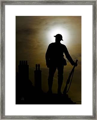 Remembering The Fallen Framed Print