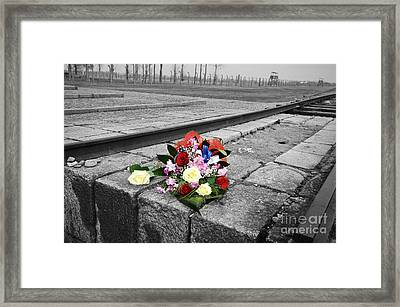 Remembering The Painful Past Framed Print by Randi Grace Nilsberg
