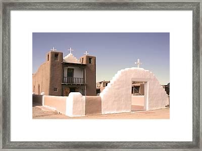 Remembering The Pueblo Framed Print by Heidi Hermes