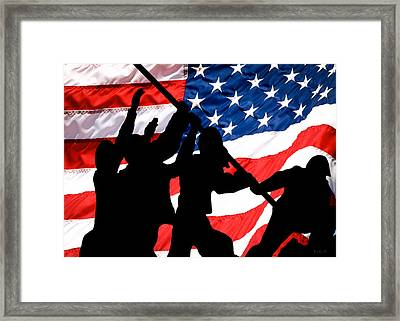 Remembering World War II Framed Print by Bob Orsillo