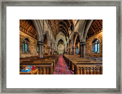 Remembrance Day Poppies Framed Print by Adrian Evans