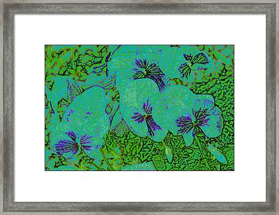Remembrance Flowers Framed Print by Sonali Gangane