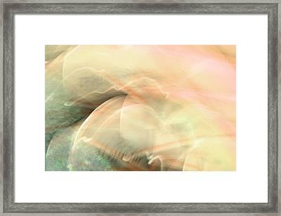 Remembrance - Pink Framed Print