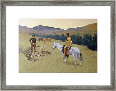 Remington, Frederic 1861-1909. The Framed Print