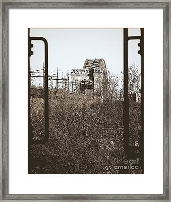 Reminiscent Of Earlier Travel Framed Print by James Aiken
