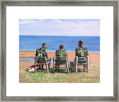 Reminiscing The Good Old Days Framed Print by Jack Skinner